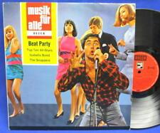 LP TOP TEN ALLSTARS, ISABELLA BOND, SNAPPERS u.a. - BEAT PARTY - DEUTSCH BEAT