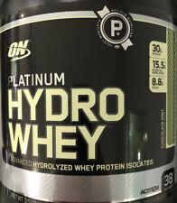 hydro whey platinum 3.5LB Choc Mint Exp 10/2019