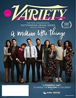 VARIETY MAGAZINE CONTENDERS JUNE 3 2019 DRAMA A MILLION LITTLE THINGS
