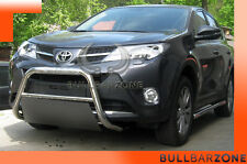 TOYOTA RAV4 IV 2013+ TUBO PROTEZIONE MEDIUM BULL BAR INOX STAINLESS STEEL