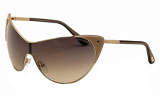 Authentic TOM FORD Vanda Nude/Rose Gold Shield Sunglasses FT TF 364 - 74B *NEW*