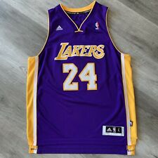 Authentic Kobe Bryant Large 44 Los Angeles Lakers adidas Jersey 2013 Swingman