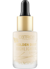 Catrice Highlighter Primer Drops Golden Dust Creamy Texture Pipette Applicator
