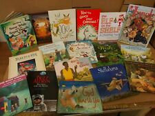 Lot of 10 Childrens Reading Bedtime-Story Time Kids Books Random Mix Unsorted