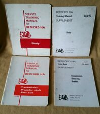 Vauxhall Viva Bedford HA Van Service MANUAL & Supplement ~ 64-67 TS 665, 666,668