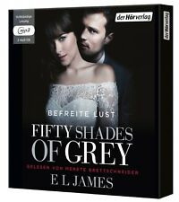 FIFTY SHADES OF GREY - BEFREITE LUST (3/MP3) (SA) BAND 3 2 MP3 CD NEW