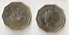 Random age km33a Belize 1 Cent Queens Wreaths UNC coin
