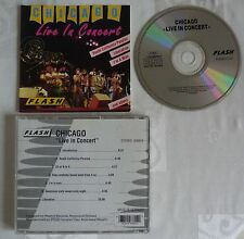 CD ALBUM CHICAGO LIVE IN CONCERT 7 TITRES F 8360-2 CD
