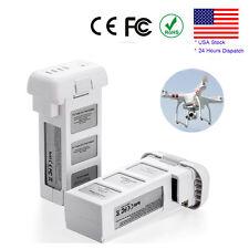 2 Pack For DJI Phantom 3 PH3 Drone Lithium Li-Po Battery 4S 4480mAh 15.2V 68Wh