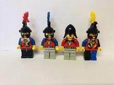 LEGO cavaliere 3x VINTAGE SCUDO SHIELD Leone Rosso//Bianco Oro 3846pb27 #r9