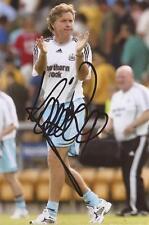 Newcastle: Kevin Bond firmata 6x4 FOTO D'AZIONE + COA