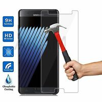 100% Genuine Tempered Glass LCD Screen Protector Film For Samsung Galaxy Note FE