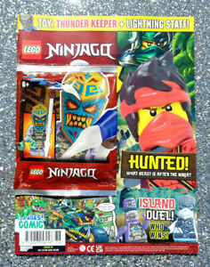 LEGO NINJAGO MAGAZINE ISSUE #76 ~ 2021 ~ NEW WITH MINIFIGURE ~