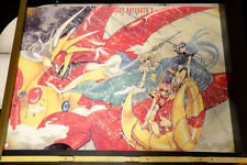 MAGIC KNIGHT RAYEART 2  VINTAGE ANIME POSTER aus JAPAN  73x51,5cm 4395 CLAMP MKR