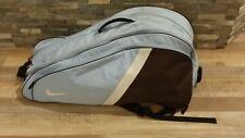 Nike Large  Tennis Bag - Blue/White/Brown/Black