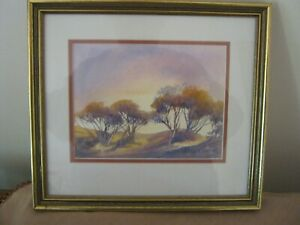 Watercolour Painting by MARGARET METCALF (1986) 28 x 25 cms