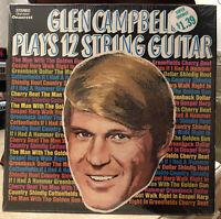 GLEN CAMPBELL PLAYS 12 STRING GUITAR Vinyl Record Album LP