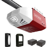 Craftsman 1/2 HP AC Series 100 Chain Cable Drive System Garage Door Opener wRail