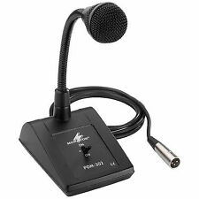 Monacor 5m PA Desktop Microphone With Gooseneck