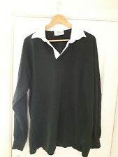 FRONT ROW Mens Casual Long Sleeved Rugby Style Shirt XL