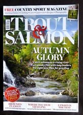 Trout And Salmon, October 2015, Fishing for Trout and Char on Loch Lee