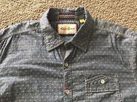 ROBERT GRAHAM Large Patterned Blue Shirt