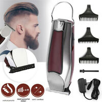 US Electric Hair Cutting Trimmer Clipper Shaver Barber Haircut Cordless Machine