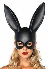 LA-2628 MASQUERADE Frank Rabbit Black Darko Mask Halloween Costume Accessory