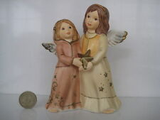 GOEBEL GERMANY HUMMEL CHILD ANGELS DOUBLE FIGURE OUR STAR PRETTY CHRISTMAS 41342