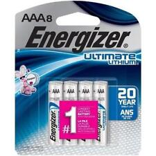 Energizer L92SBP-8 Ultimate Lithium AAA Batteries