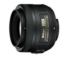 Nikon AF-S DX NIKKOR 35mm f/1.8G Lens – Excellent Condition