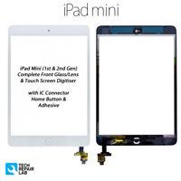 Neuf IPAD Mini 1 & 2 Complet Avant Verre / Numériseur Écran Tactile Montage -