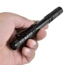LED Tactical Flashlight Torch Bright Torch Lamp Pen Light With Clip