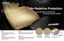 3D MAXpider Fit SANTA FE 2007-2009 CLASSIC TAN 1st 2nd Row (1 EYELET)
