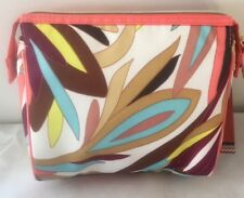 NWT MISSONI x Target COLORE FLORAL MEDIUM PURSE KIT Cosmetic Make-up Case