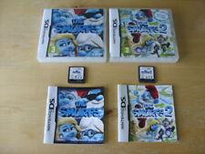 The Smurfs & The Smurfs 2 (Nintendo DS, 2013) - European Versions - FREE UK P&P