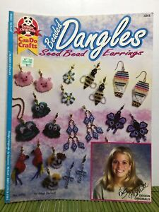 Suzanne McNeill Beaded Dangles Seed Bead Earrings Patterns #3282