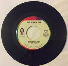 The Kitchen Cinq 45 Texas Fuzz Psych Determination You'll Be Sorry NM Vinyl