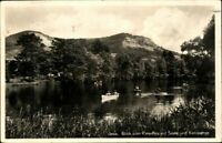 Jena Blick v. Paradies auf Saale u. Kernberge Ansichtskarte Postkarte AK PK