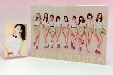 CD+DVD Girls Generation Gee JAPAN Limited Photo card Yuri SNSD