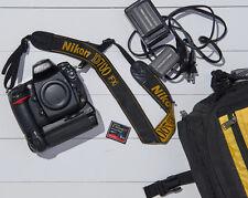 Nikon D700 12.1MP Digital SLR Camera - Black with Battery Grip (no lens)