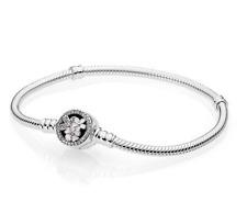 New Authentic Pandora Poetic Blooms Bracelet Enamel & CZ #590744CZ-20