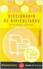 Diccionario de Dificultades de la lengua española. -Santillana