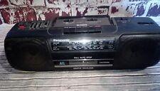 Panasonic RX-FS420 Boombox Cassette Cinta Reproductor Estéreo Portátil Deck Radio Fm