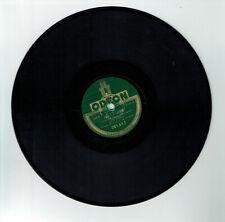 78 tours 25 cm Lina MARGY Disque FLEURETTE - BRIN D'AMOUR - ODEON 281647