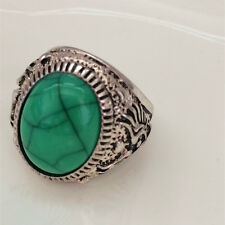 Vintage Jewelry 316l Stainless Steel Vogue Design Mini Stone Ring USA Size 8