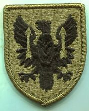 MILITARY PATCH US ARMY OCP HOOK AND LOOP 11TH AVIATION BRIGADE MULTICAM