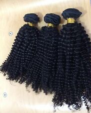 "SALES!! 300g. 18"",20"",22""  BRAZILIAN VIRGIN HUMAN HAIR AFRO KINKY CURLS, 7A"