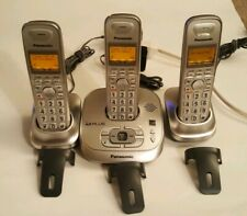 Panasonic Kx-Tg4021 Dect 6.0 Plus Answering System 3 Cordless Phone Handsets