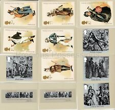 GB POSTCARDS PHQ CARDS USED REAR FDI 366 2012 CHARLES DICKENS